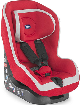Автокресло Chicco GO - ONE Red (Группа 1) 04079818700000 автокресло inglesina автокресло amerigo группа 1 inkiostro