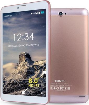 Планшет Ginzzu GT-8010 розовое золото ulefone золото 2 гб