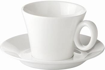 Чашка для капучино Tescoma ALLEGRO с блюдцем 387522 чашка для эспрессо tescoma crema с блюдцем