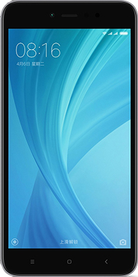 Мобильный телефон Xiaomi Redmi Note 5A 2/16 GB серый смартфон xiaomi redmi note 5a серый 5 5 16 гб lte wi fi gps 3g redmi note 5a 16gb gray