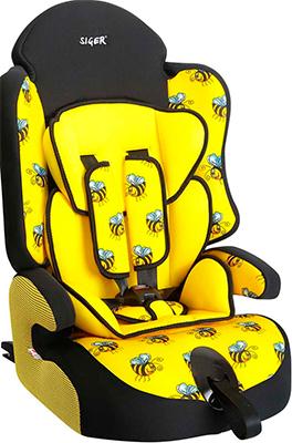 Автокресло Siger Прайм изофикс ART пчелка 9-36 кг автокресло britax roemer детское автокресло britax roemer advansafix iii sict группа 1 2 3 от 9 до 36 кг black marble