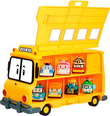 Кейс для хранения машинок Robocar Poli Скулби (вместимость 14 машинок) robocar poli кейс для хранения машинок скулби
