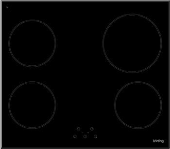 Встраиваемая электрическая варочная панель Korting HI 64021 B встраиваемая индукционная электрическая варочная поверхность korting hi 64021 b