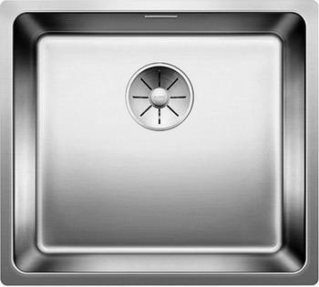 Кухонная мойка BLANCO ANDANO 450-U нерж. сталь зеркальная полировка 522963 blanco zerox 450 u нерж сталь зеркальная