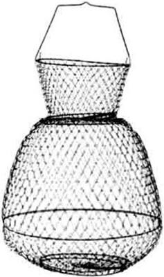Садок Salmo металлический Salmo 32х25х25 см WB 002517 экстрактор рыболовный salmo 23 см с пружиной 9606 009