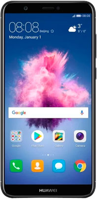 Мобильный телефон Huawei P smart 3/32 GB Dual SIM черный 10 1 inch tablet pc android octa core ram 4gb rom 32 64gb dual sim bluetooth gps 1920x1200 ips smart tablets pcs s119 101