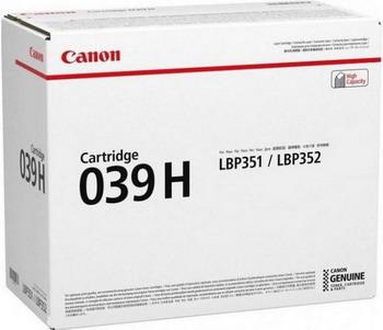 Картридж Canon 039 H 0288 C 001 h hofmann 6 charakterstucke op 107