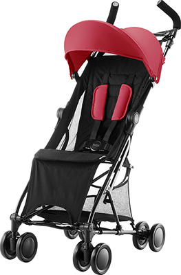 Коляска Britax Roemer Holiday Flame Red 2000027396 автокресло группа 0 1 0 18 кг britax roemer first class plus flame red