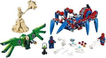 Конструктор Lego Паучий вездеход 76114 Super Heroes Spider-man high time for heroes mth 51