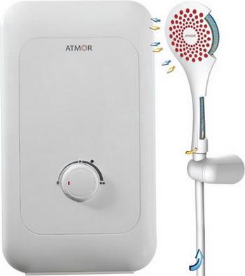 Водонагреватель проточный Atmor ENJOY 100 5000 Душ электрический проточный водонагреватель atmor enjoy 100 5квт кухня