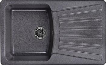 Кухонная мойка Weissgauff CLASSIC 800 Eco Granit графит  weissgauff classic 695 eco granit чёрный