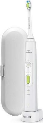 Электрическая зубная щетка Philips HX 8911/02 Sonicare HealthyWhite+ матовый белый электрическая зубная щетка philips hx 6921 06 sonicare flexcare
