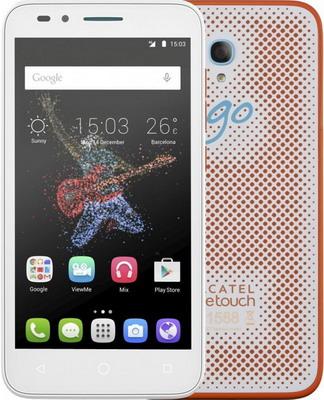 Мобильный телефон Alcatel OneTouch Go Play 7048 X White/Orange+White alcatel one touch 7048x go play white orange white