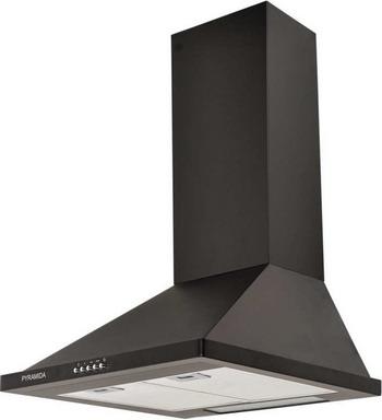 Вытяжка купольная Pyramida KH 50 black pyramida basic casa 50k white