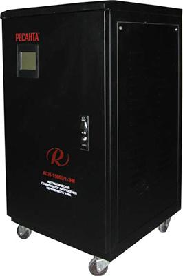 Стабилизатор напряжения Ресанта АСН - 15 000/1 - ЭМ стабилизатор напряжения ресанта асн 9 000 3 эм