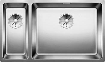 Кухонная мойка BLANCO ANDANO 500/180-U нерж.сталь полированная без клапана-автомата правая мойка кухонная blanco andano 450 u нерж сталь зеркальная полировка без клапана автомата 522963 519373