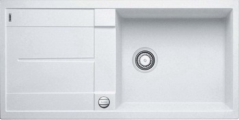 Кухонная мойка BLANCO METRA XL 6S SILGRANIT белый кухонная мойка ukinox stm 800 600 20 6