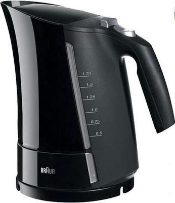Чайник электрический BRAUN WK 500 ONYX чайник braun wk500 onyx 3000вт 1 7л пластик черный