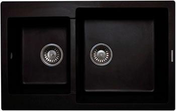 Кухонная мойка LAVA D.3 (LAVA чёрный металлик)