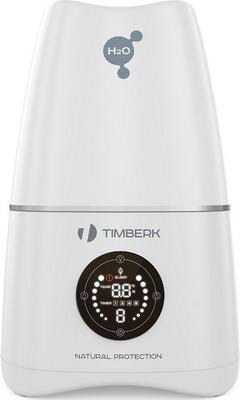 Увлажнитель воздуха Timberk THU UL 15 E (SV) H2O увлажнитель timberk thu ul 16 m w