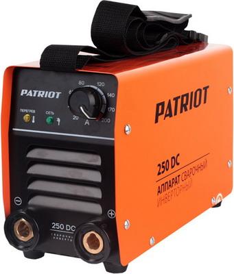 Сварочный аппарат Patriot 250 DC MMA Кейс сварочный аппарат patriot smart 180 mma