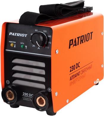Сварочный аппарат Patriot 230 DC MMA сварочный аппарат patriot smart 180 mma