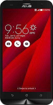 все цены на  Мобильный телефон ASUS Zenfone 2 Lazer ZE 500 KL 32 Gb (90 AZ 00 E3-M 04740) красный  онлайн