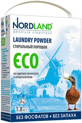 Стиральный порошок NORDLAND ECO 1.8кг стиральный порошок колор пемос 3 5 кг