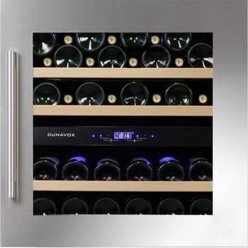Встраиваемый винный шкаф Dunavox DAB 36.80 DSS морозильник bbk rfz 80