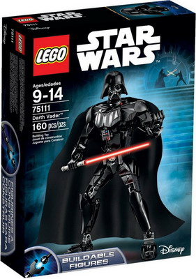 Конструктор Lego STAR WARS Darth Vader 75111 2018 new movie star wars darth vader