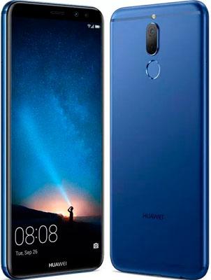 Мобильный телефон Huawei Nova 2i синий смартфон huawei nova серебристый 51090xla