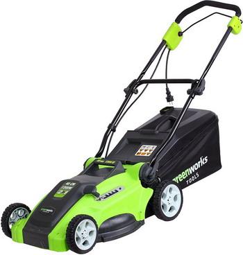 Колесная газонокосилка Greenworks GLM 1240 25147 газонокосилка huter glm 5 0 s