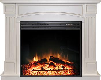 Каминокомплект Royal Flame Boston c очагом Jupiter FX Black New (алебастр) 211164905291 цена