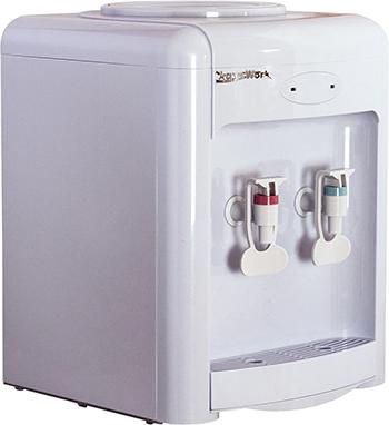 Кулер для воды Aqua Work 36 TDN (белый) кулеры для воды aqua work кулер для воды aqua work36tdn белый эл охл нажим кружкой