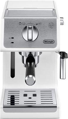 Кофеварка DeLonghi ECP 33.21.W кофеварка delonghi en 500 коричневый