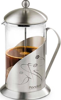 Френч-пресс Rondell Tasse RDS-102 800 мл френч пресс rondell mocco&amp latte rds 491 1 л нержавеющая сталь серебристый