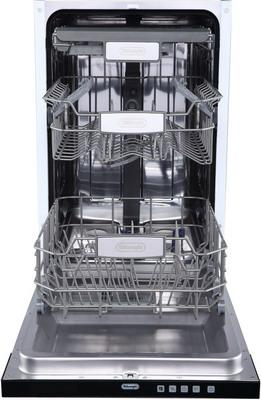 Полновстраиваемая посудомоечная машина DeLonghi DDW 06 S Zircone посудомоечная машина delonghi ddws09f quarzo