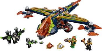 Конструктор Lego Nexo Knights: Аэро-арбалет Аарона 72005 lepin 14022 nexo knights axl axls tower carrier 704pcs building block educational toys for children compatible legoe