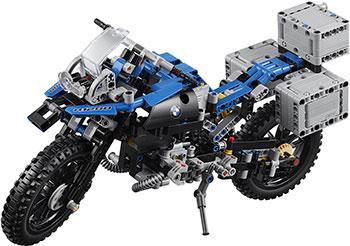 Конструктор Lego Приключения на BMW R 1200 GS 42063