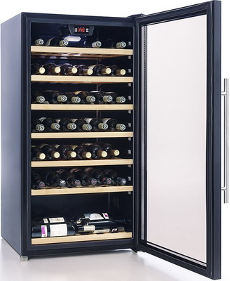 Винный шкаф Cavanova CV 080 T черный cavanova cv 012 2т