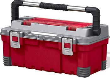 Ящик Keter MASTER PRO TOOLBOX 22 красный 17181009 ящик для инструментов keter 22 56х31х28см quik latch pro 38337 22 z01