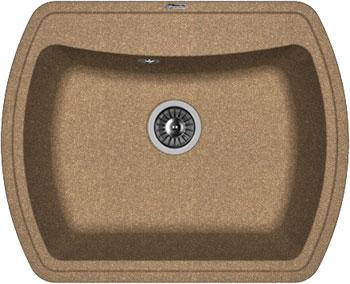 Кухонная мойка Florentina Нире-630 630х510 коричневый FG искусственный камень
