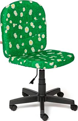 Кресло Tetchair STEP (ткань принт ''Ромашки на зеленом'') кресло tetchair step ткань джинса