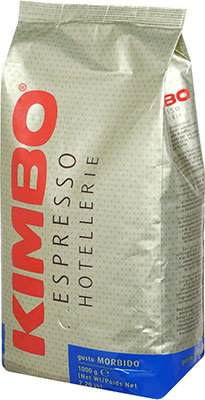Кофе зерновой KIMBO HOTELLERIE GUSTO MORBIDO 1 кг кофе в зернах kimbo hotellerie gusto dolce