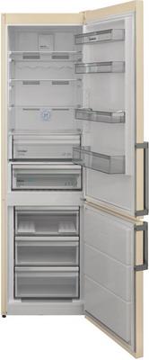 Двухкамерный холодильник Scandilux CNF 379 EZ B Beigh marble двухкамерный холодильник scandilux cnf 379 ez x inox