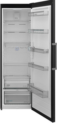 Однокамерный холодильник Scandilux R 711 EZ D/X Dark Inox двухкамерный холодильник scandilux cnf 379 ez x inox