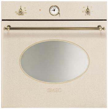 Встраиваемый электрический духовой шкаф Smeg SF 800 AVO встраиваемый электрический духовой шкаф smeg sf 750 pol