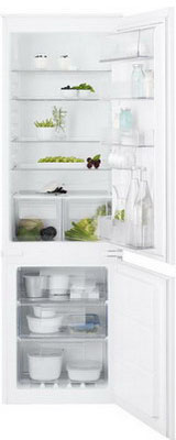 Встраиваемый двухкамерный холодильник Electrolux ENN 92841 AW встраиваемый двухкамерный холодильник electrolux enn 92803 cw