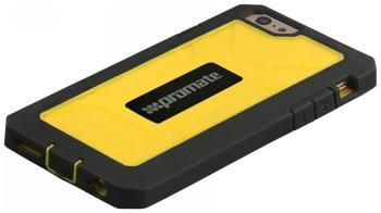 Чехол (клип-кейс) Promate Armor-6 жёлтый чехол spigen slim armor для iphone 6 plus 5 5 тёмный металлик sgp10905