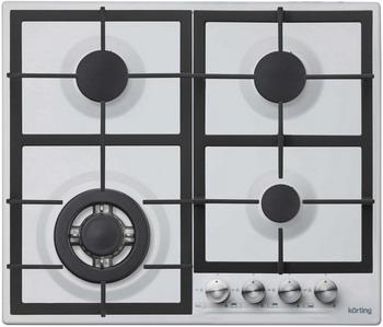 Встраиваемая газовая варочная панель Korting HG 665 CTW встраиваемая газовая варочная панель korting hg 665 c2tx